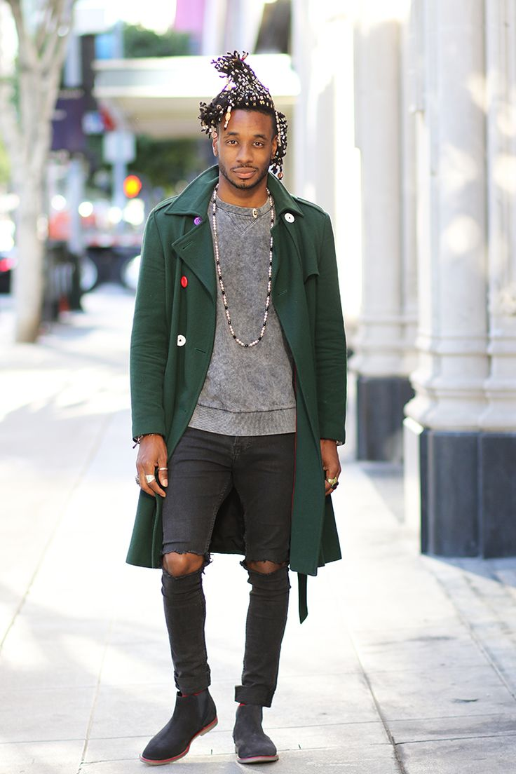 Norris Danta Ford: OOTD: TRENCH COAT WITH COLORED BUTTONS