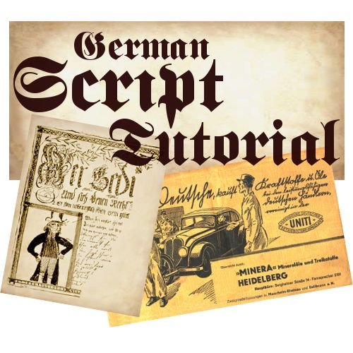 Learning to read old German Script Tutorial - Great for genealogy