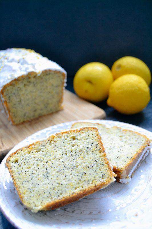Zitronenkuchen Rezept – Zitronen-Mohn-Kuchen