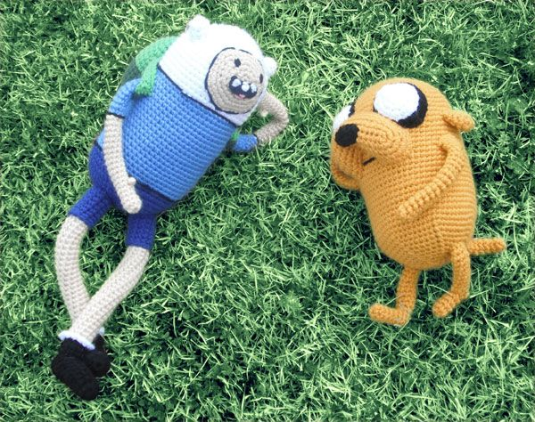 Finn And Jake Amigurumi Patterns Free : 17 Best images about crochet dogs and cats on Pinterest ...