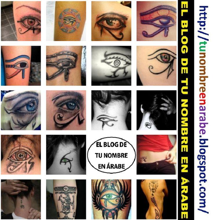 Ojo de horus tatuajes