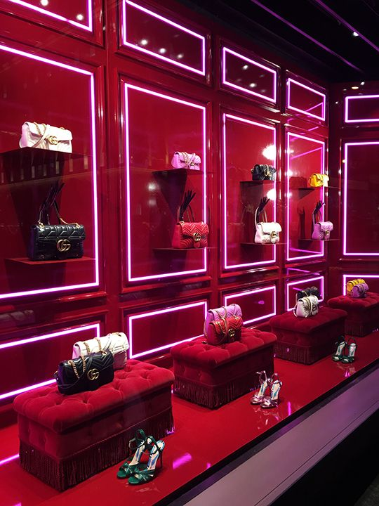 "GUCCI, New York, ""It's amazing how fast later comes when you buy now!"", photo by Mizhattan, pinned by Ton van der Veer"