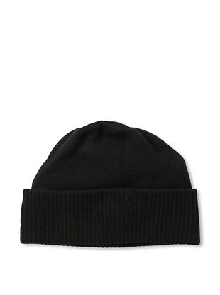 Portolano Men's Cuffed Beanie (Black)