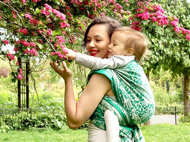 Discount Dryad Ismay Baby Wrap Droolworthy Baby Carriers