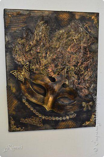 Картина панно рисунок Поделка изделие Ассамбляж Новое открытие фото 1