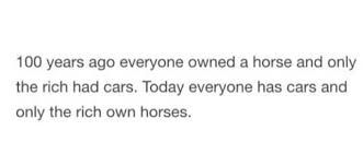 Bruh I ain't rich and I got like 14 horses