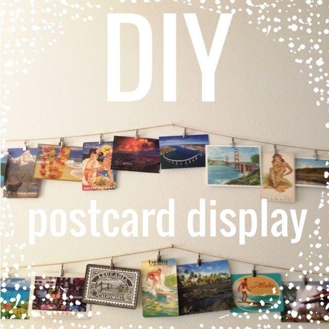 DIY Postcard Display | Meilou