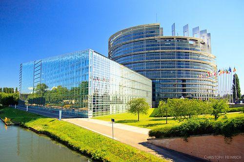 European Parliament in Strasbourg | Flickr: Intercambio de fotos