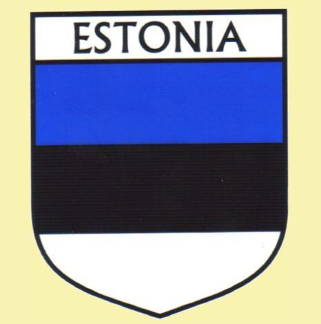 For Everything Genealogy - Estonia Flag Country Flag Estonia Decals Stickers Set of 3, $15.00 (http://www.foreverythinggenealogy.com.au/estonia-flag-country-flag-estonia-decals-stickers-set-of-3/)