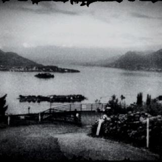 Lago Maggiore, visto dalla strada sopra Stresa (Vb)