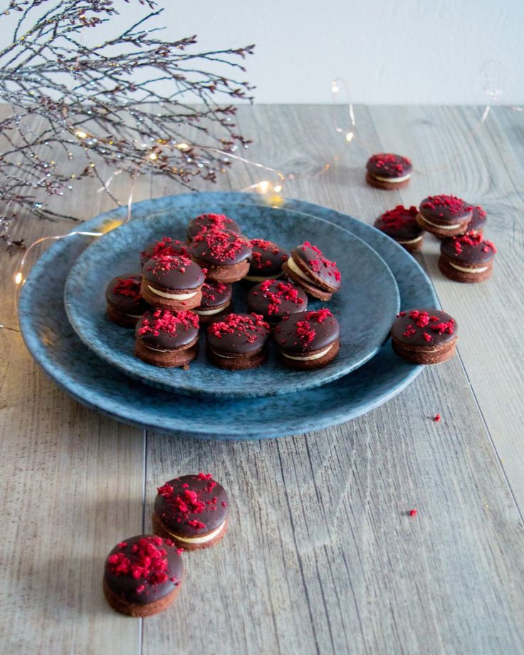 SUGARTOWN: Cukroví Black Forest/Black Forest Christmas Cookies