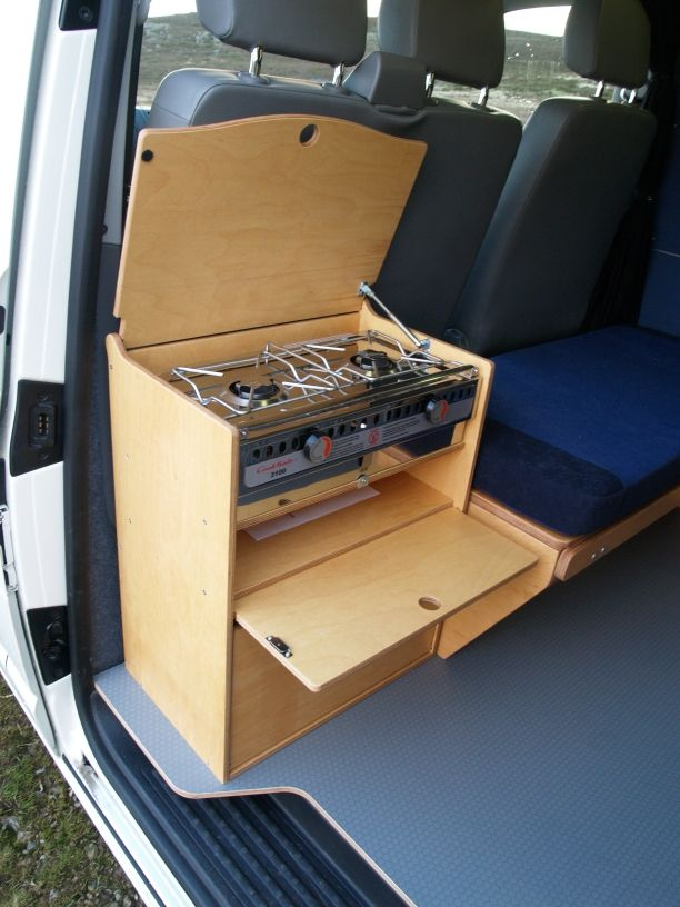VW SWB Amdro Angel Fitted Conversion From Panel Van To Camper Alternative Conversions Camping Hacks Kitchen