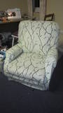 Finish reupholstering my favourite chair (UFO 1 year!) Finished!
