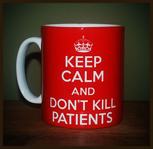 NEW KEEP CALM AND DON'T KILL PATIENTS CARRY ON GIFT MUG CUP DOCTOR NURSE FUNNY | eBay