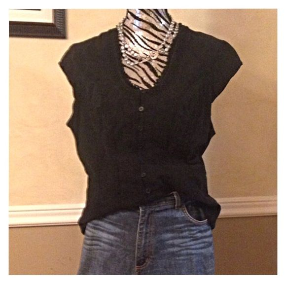 Sale todaySoft Surroundings black top Very good condition. Soft Surroundings Tops