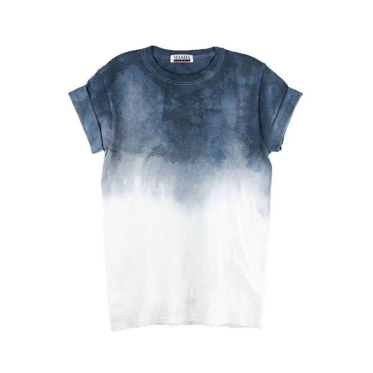 Grey Ombre Tie Dye T-shirt