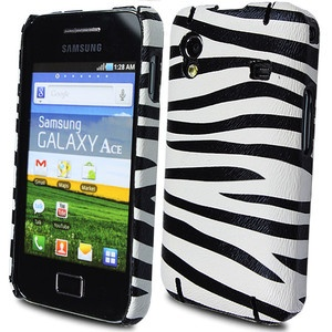 FOR SAMSUNG GALAXY ACE S5830 STYLISH ZEBRA PRINT HARD SHELL BACK CASE COVER | eBay