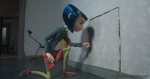 coraline jones door movie pelicula