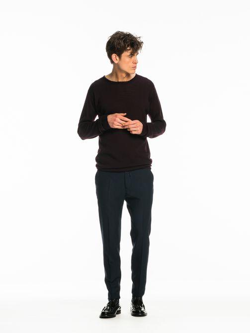 Stuart – Geklede broek met trekkoord | Regular slim fit