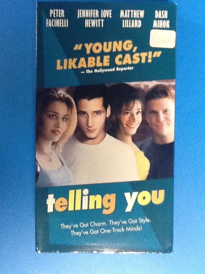 TELLING YOU (VHS)Jennifer Love Hewitt,Matthew Lillard,Peter Facinelli,Dash Mihok