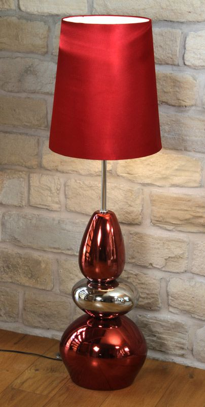 52 best pacific lifestyle lighting images on pinterest buffet red and silver pebble floor lamp aloadofball Image collections