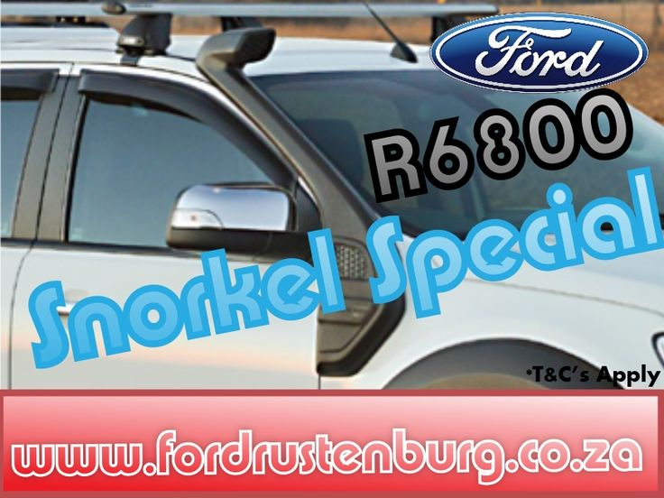 Snorkel Special at Ford Rustenburg R6800