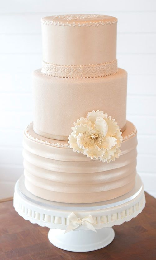 188 Best Wedding Cake Images On Pinterest