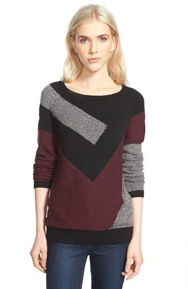 Abstract sweater Nordstroms