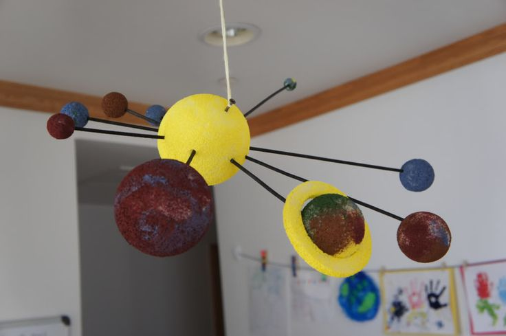 Solar System Mobile Idea - Pics about space