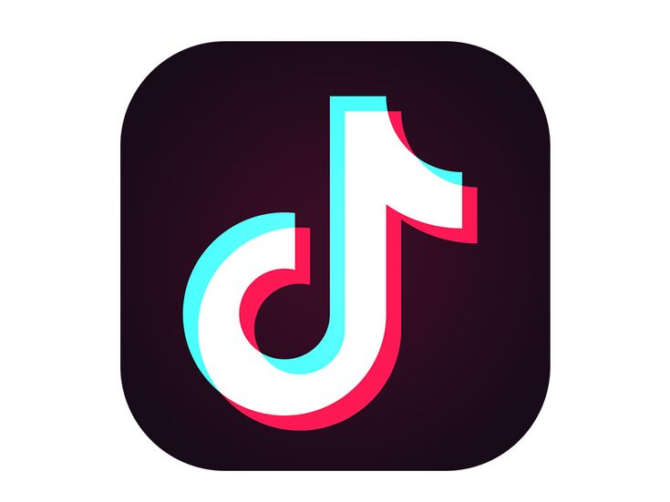 Instagram Tiktok Snapchat Logo On Iphone Screen Vector Image