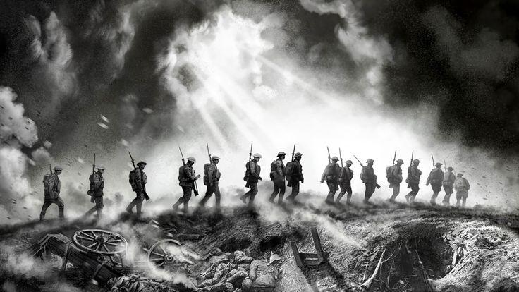 Скачать обои художник V.G., WWI, акварель, 1914-1918гг, первая мировая война, wallpaper., гуашь, британцы, живопись, солдаты, арт, элитная пехота after battle, карандаш, после боя, раздел живопись в разрешении 1920x1080