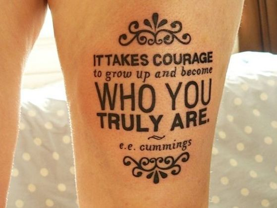 Which Meaningful Quote Tattoo Should You Get? | PlayBuzz