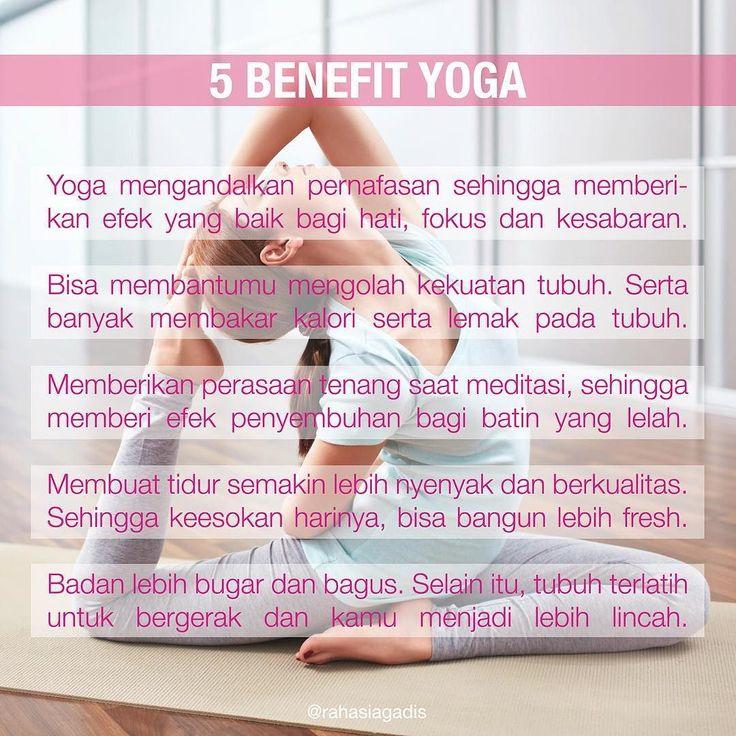 Tag temen kamu dan ajak dia yoga bareng  #rahasiagadis #rahasiayoga