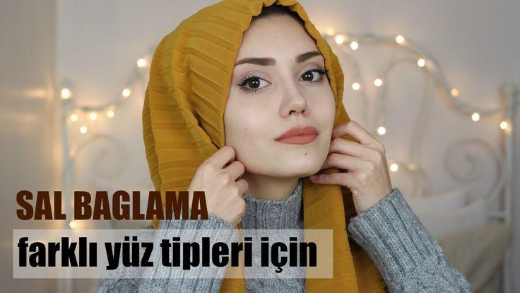 ŞAL BAĞLAMA   Farklı Yüz Tipleri  İçin    Hijab Tutorial
