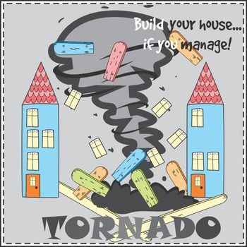 You can play the Tornado game in order to practice vocabulary, reading, spelling, asking and answering questions and so on. You can add the Tornado cards either to word card, flash card or task card sets.HOW TO PLAYDivide the class into teams.Stick the flash cards or word cardsface down on the board.