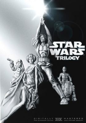 DVD: Star Wars Trilogy - The first movie my parents took me to was Episode IV. I was only two, but the Force was strong.  http://libcat.bentley.edu/record=b1127856~S0