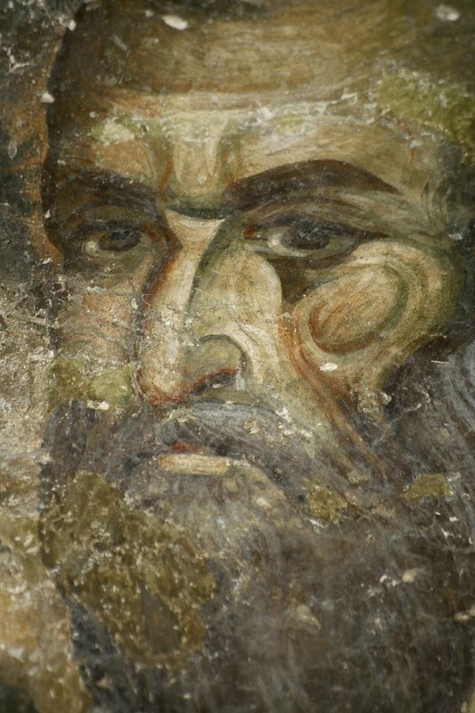 Лик Апостола Павла. Монастырь в Сопочанах. 13 в.
