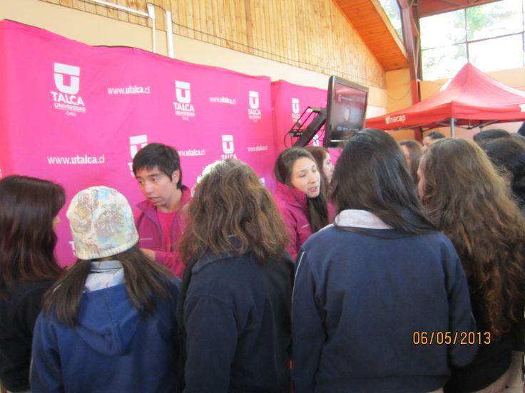 Feria Liceo María Auxiliadora, Linares.
