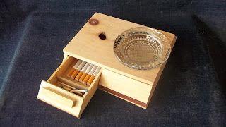 Frankorona's workshop: Porta cenicero y cigarrera MOD.145