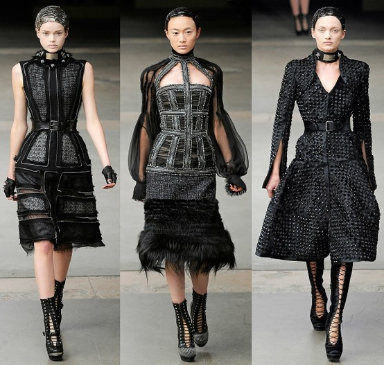 gothic- high fashion show
