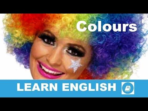 Colours - Vocabulary Flashcards