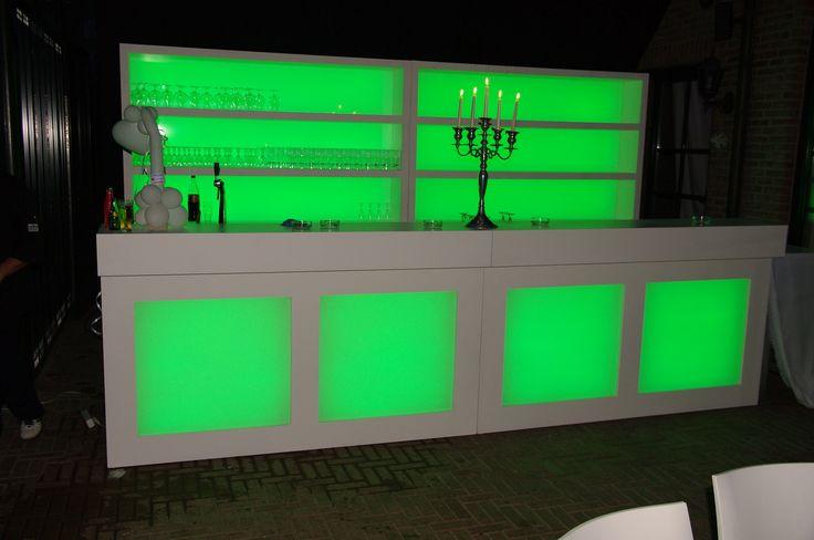 deze design modulaire bar met led verlichting is n van onze realisaties wens je andere. Black Bedroom Furniture Sets. Home Design Ideas