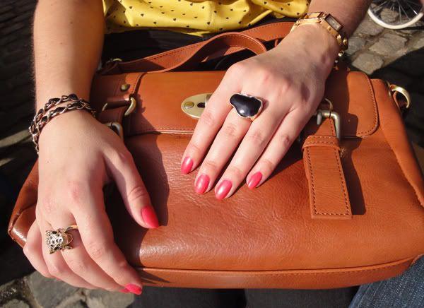 H&M top - BikBok jeans - Units boots (new) - Edina Ronay bag - D&G watch