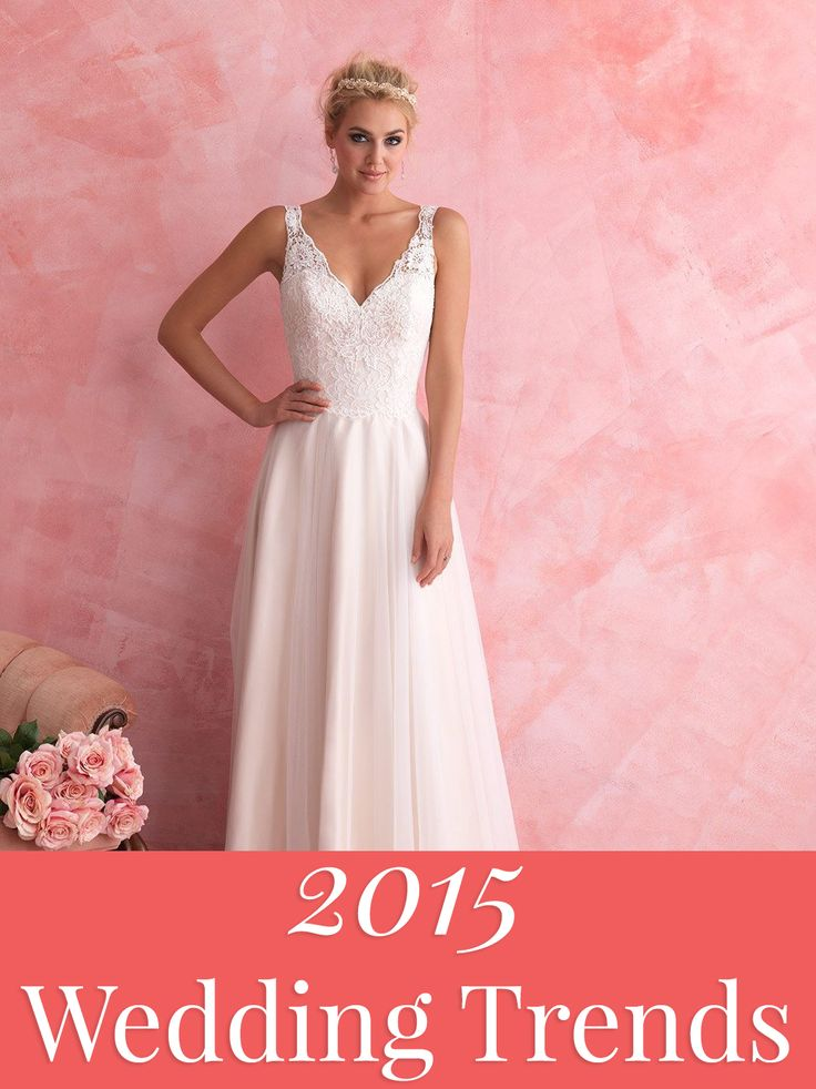 Our list of the top 40 2015 wedding trends.