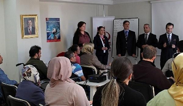 Keçiören'de 'Engelli Girişimci Adayları' bilgilendirme semineri