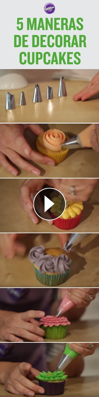 Con estas instrucciones, vas a poder crear cupcakes que impresionaran a todos tus invitados.