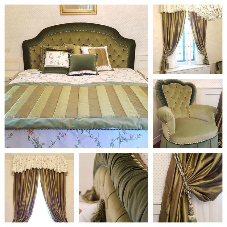 SPAZIO AI VOSTRI PROGETTI! Idee arredo di Collezione Vergnani. Località: Reggio nell'Emilia. Ci presentano una camera da letto coordinata con tendaggi, poltroncina,testata e basamento del letto tutti CTA. Sottotenda: #BlueCiel, CTA. Poltrona e trapunta: #Velluti, CTA. Basamento letto e testiera: #Femme, CTA.  #curtains #madeinitaly #tessuti#interiordesign #tendaggi #textile #textiles #fabric #homedecor#homedesign #hometextile #decoration #ctasrl #italiantextile #lino #cotone #seta #cotton…