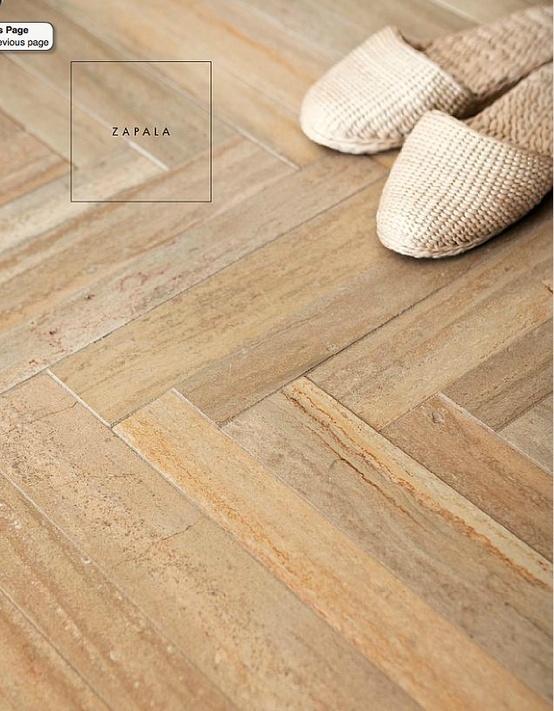 Herringbone Wood Look Floor Tiles Master Bathroom Remodel