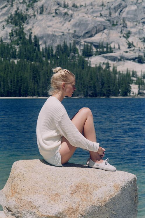 The Unisex Fisherman's Pullover by #AmericanApparel #summerknits | @andwhatelse