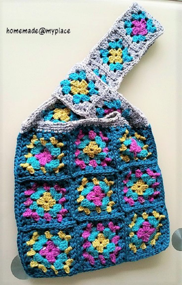 Crochet Japanese Knot Bag Pattern : Yli tuhat kuvaa: ? Granny Crochet!! ? Community Board ...
